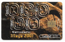 Guatemala, Ladatel,  Used Chip Phonecard, No Value, Collectors Item, # Guatemala-2 - Guatemala