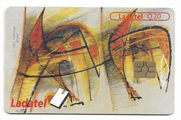 Guatemala, Ladatel,  Used Chip Phonecard, No Value, Collectors Item, # Guatemala-3 - Guatemala