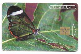 Guatemala, Ladatel,  Used Chip Phonecard, No Value, Collectors Item, # Guatemala-4 - Guatemala