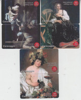 CHINA ART CARAVAGGIO SET OF 3 PUZZLES - Pittura