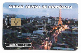 Guatemala, Ladatel,  Used Chip Phonecard, No Value, Collectors Item, # Guatemala-5 - Guatemala