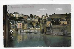 Luxembourg.  L'Alzette Au Grund - Lussemburgo - Città