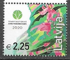 LATVIA, 2020, MNH, PLANTS, FLOWERS, INTERNATIONAL PLANT PROTECTION YEAR,1v - Other