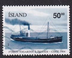 Iceland 2004, Steamship, Minr 1054 Vfu. - 1944-... Repubblica