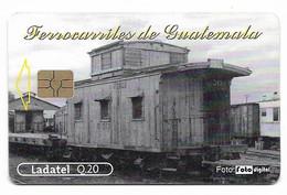 Guatemala, Ladatel,  Used Chip Phonecard, No Value, Collectors Item, # Guatemala-7 - Guatemala