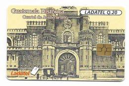 Guatemala, Ladatel,  Used Chip Phonecard, No Value, Collectors Item, # Guatemala-8 - Guatemala