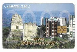 Guatemala, Ladatel,  Used Chip Phonecard, No Value, Collectors Item, # Guatemala-13 - Guatemala