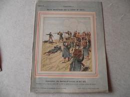 Protège Cahier, Fin XIX, Bataille De St Privat,  Récits Patriotiques, Guerre 70/71, - Protège-cahiers
