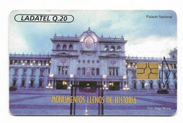 Guatemala, Ladatel,  Used Chip Phonecard, No Value, Collectors Item, # Guatemala-15 - Guatemala