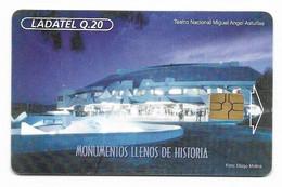Guatemala, Ladatel,  Used Chip Phonecard, No Value, Collectors Item, # Guatemala-16 - Guatemala