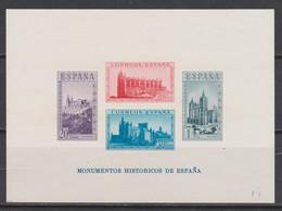 1938 HOJITA MONUMENTOS HISTÓRICOS NUEVA SIN DENTAR**. VER Y LEER DESCRIPCIÓN - 1931-50 Neufs