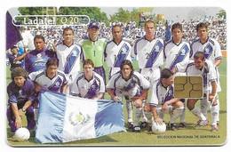 Guatemala, Ladatel,  Used Chip Phonecard, No Value, Collectors Item, # Guatemala-17 - Guatemala