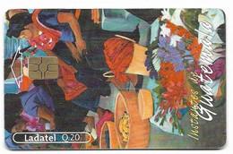 Guatemala, Ladatel,  Used Chip Phonecard, No Value, Collectors Item, # Guatemala-18 - Guatemala
