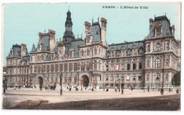 Paris - L'Hôtel De Ville - édit. Non Identifié  + Verso - Francia