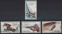 JO68/E18 - ESPAGNE N° 1545/48 Neufs** Jeux Olympiques 1968 - 1931-Aujourd'hui: II. République - ....Juan Carlos I