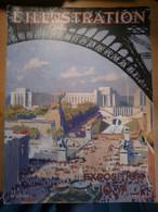 Illustration Exposition Internationale Paris 1937 Publicité Négrita Plan Palais Découverte Centre Régional Outre Mer Art - 1900 - 1949