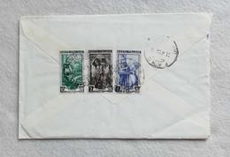 Busta Di Lettera Da Camerino Per Fano 1952 - 1946-60: Marcofilia