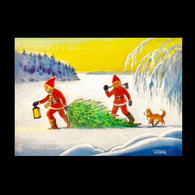 036 - Christmas, Nöel, Weihnachten, Navidad, Natale - New Year - Christmas Season Used - Natale