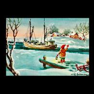048 - Christmas, Nöel, Weihnachten, Navidad, Natale - New Year - Christmas Season Used - Natale