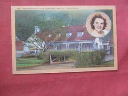Residence Judy Garland Bel Air Ca.  Ref  4381 - Artisti
