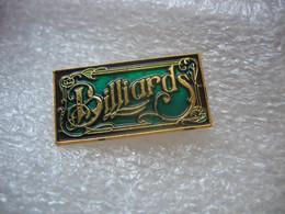 Pin's Billard - Billiards
