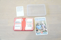 Speelkaarten - Frage & Antwort Wer Dumm Fragt , Quartett 6318553, Berliner Spielkarten, *** - - Vintage *** - - Cartes à Jouer Classiques