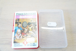 Speelkaarten - Frage & Antwort Spaẞvogel , Quartett 6318551, Berliner Spielkarten, *** - - Vintage *** - - Cartes à Jouer Classiques