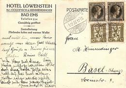 LUXEMBOURG - CPA 1933 - Hôtel LÖWENSTEIN - Mondorf-les-Bains