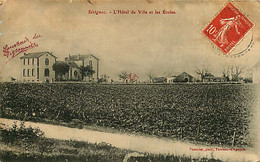190920 - 46 SERIGNAC L'hôtel De Ville Et Les écoles - 1908 - Autres Communes