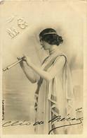 190920 - ARTISTE Danseuse Ballet Courtisane - CLEO DE MERODE Flute - REUTLINGER - MG - Baile