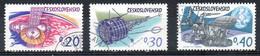 TCHECOSLOVAQUIE. N°1977-9 De 1973 Oblitérés. Conquête De L'espace. - Raumfahrt