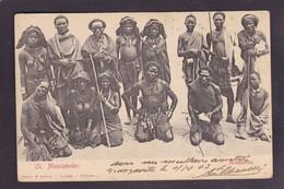 CPA Angola Nu Féminin Nude Ethnic Circulé - Angola