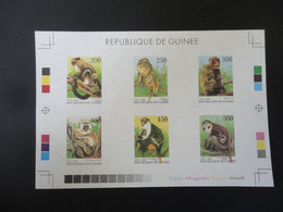 Guinea 1998 Collective PROOF Monkeys  VF - Fossils