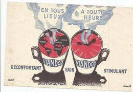 BUV / French Old Blotting / Blotter / à Saisir Achat Immédiat BUVARD ANCIEN VIANDOX  RECONFORTANT SAIN STIMULANT BOISSON - Soups & Sauces