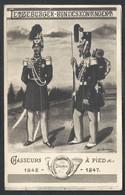 +++ CPA - Militaria - Militaire - Letzeburg - Bundeskontingent - Chasseurs à Pied - Soldat - Uniforme - Illustrateur // - Uniformes