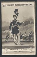 +++ CPA - Militaria - Militaire - Letzeburg - Bundeskontingent - Artillerie à Pied - Soldat - Uniforme - Illustrateur // - Uniformes
