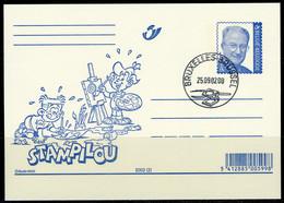 (B) België Briefkaart FDC ** 2002(2) - Stamilou - Stamped Stationery