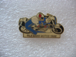 Pin's Le MANS Motos 1986 - Motorbikes