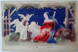 JOYEUX NOEL  - CRECHE - Sujet En Sur Epaisseur - Kerstmis