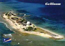 1 AK Marshall Islands * Blick Auf Die Insel Gellinam, Diese Insel Gehört Zum Kwajalein Atoll - Luftbildaufnahme * - Marshall Islands