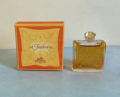 """Miniature De Parfum """"24,FAUBOURG """" D'HERMES Eau De Toilette  5 Ml Dans Sa Boîte (71-Lo) - Modern Miniatures (from 1961)"""