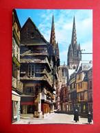 Quimper - Rue Kéréon - Kemper -  Cornouaille - Bretagne - Alte Post Karte - Quimper