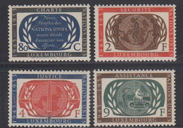Luxemburg 1955 United Nations 4v ** Mnh (50112) - Unused Stamps