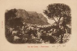 Ile De Capri Panorama  Undivided Back Edit Paris - Altre Città
