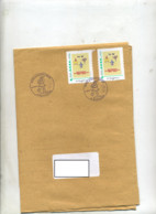 2 Lettres Cachet Saint Louis Noel Sur Timbre à Moi Neuweg  Tram - Gedenkstempel