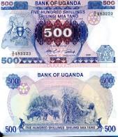 UGANDA 500 Shillings 1986  UNC P 25 - Oeganda