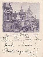 London 1899 - New Law Courts  - Scan Recto- Verso - Other