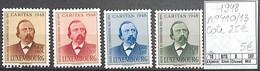 NB - [851618]TB//**/Mnh-c:25e-Luxembourg 1948 - N° 410/13, Dicks, Personnalités, Poètes, Compositeur - Unused Stamps