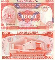 UGANDA 1000 Shillings 1986 P 26 UNC - Oeganda