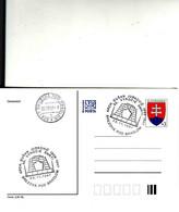 Slovakia, Brezová, Timbres Occasionnels Architekt Dušan Jurkovič, 50 Výročie Smrti 1997, Tirage 300 Only - Postal Stationery